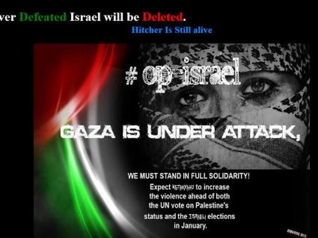 Anonymous,hack,israel,gaza,palestina