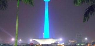 monas,jakarta,ibukota Indonesia