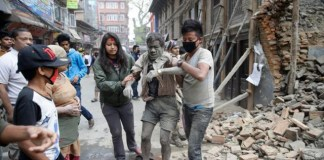 Gempa di Nepal