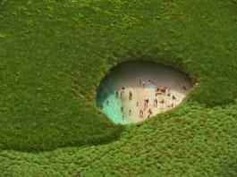 Tahukah kamu Pantai Tersembunyi ini Tercipta Akibat Pemboman ?