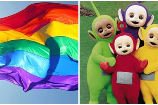 teletubbies, LGBT, simbol teletubbies