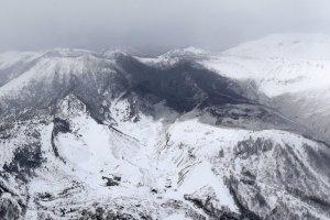 Gunung Kusatsu-Shirane meletus