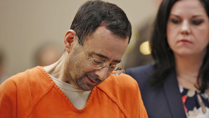 Larry Nassar sang monster pedofilia yang berkedok dokter