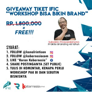 Poster GIVEAWAY Kabarnesia Group