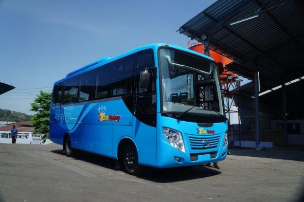 Bus Trans Padang. (Foto:Infosumbar.net)