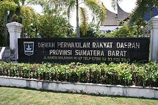 DPRD Sumatera Barat. FOTO/PADANG EKSPRES