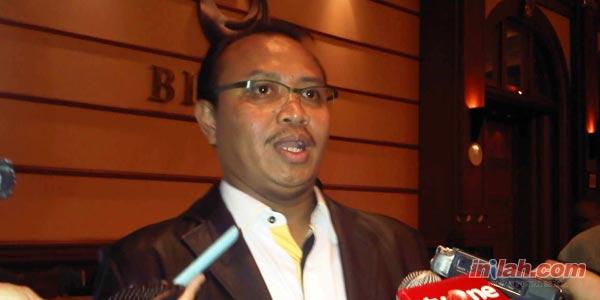 Ketua Tim Pusat Tabulasi Suara Nasional Pemilihan Presiden RI 2014 Koalisi Merah Putih, Taufik Ridho. Foto : Inilah