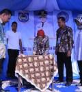 Walikota Tangsel Airin Rachmi DIany resmikan Bank Sampah BAGINDA di Ciputat Timur (kfz)