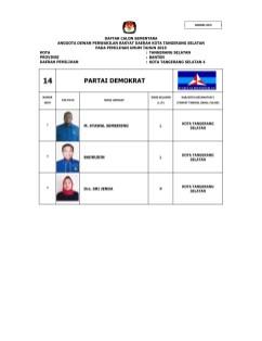 14 Partai Demokrat (DCS Anggota DPRD Tangsel Pemilu 2019)-07