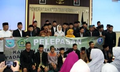 Pelepasan Kafilah Tangsel Pada MTQ XVI Tingkat Provinsi Banten