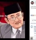 """[SALAH] Meme BJ Habibie Mengatakan """"lawan berat Prabowo itu bukan Jokowi tp kecurangan"""""""