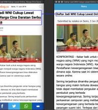 """[SALAH] """"Daftar Jadi WNI Cukup Lewat Online, Warga Cina Daratan Serbu Indonesia"""""""