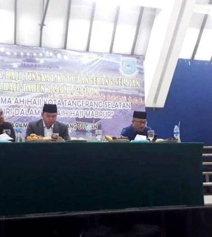 Bimbingan Manasik Haji Tingkat Kota Tangerang Selatan Tahun 2019