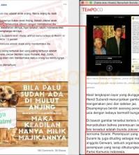 """[SALAH] """"Jokowi anak kandung dari SULAMI"""""""