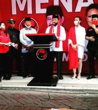Muhamad-Rahayu Saraswati Djojohadikusumo resmi didukung oleh PDI Perjuangan di Pilkada Kota Tangerang Selatan (Tangsel).