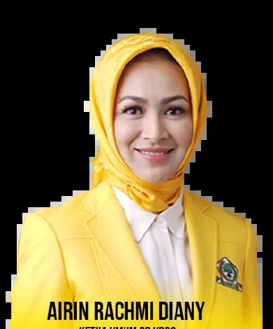 Ketua Kesatuan Perempuan Partai Golkar (KPPG) Airin Rachmi Diany