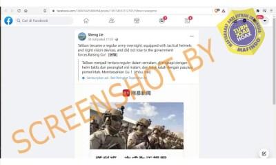 [SALAH] Foto Tentara Taliban dengan Perlengkapan Militer