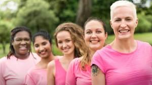 Image - ladies in line wearing pink