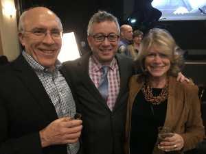 Scott McLagan, Dr. David Sanders, Dr. Barbara Kreisman,