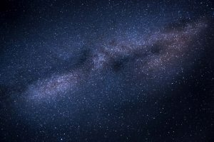 background image - stars and galaxy