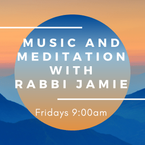 Course Image Music and Meditation with Rabbi Jamie