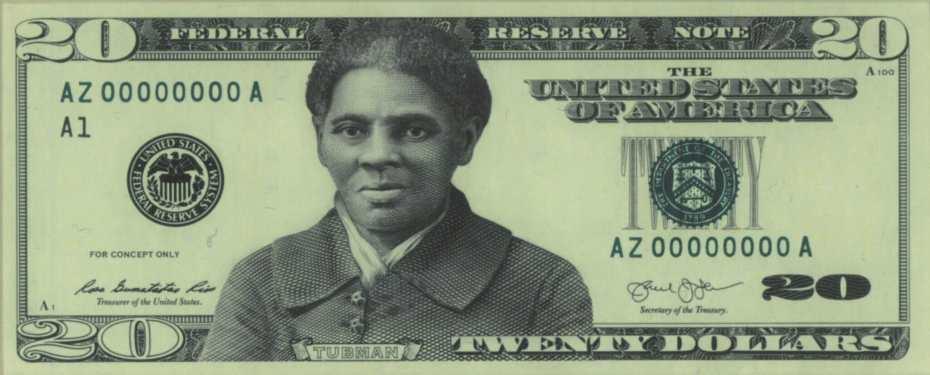 blog H Tubman 20 dollar bill