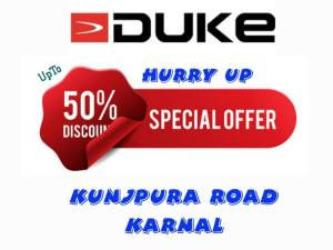 DUKE   UPTO 50% Discount all variety