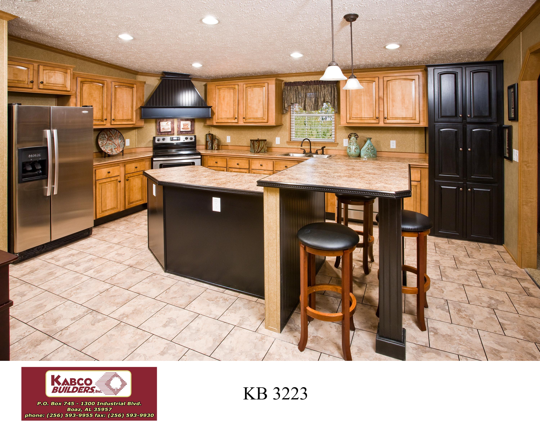 stainless kitchen faucet sink black granite kb-3223 | kabco builders
