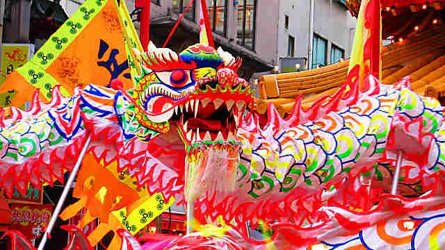 南京町春節祭2017/中國最大の年中行事春節祭が神戸で開催