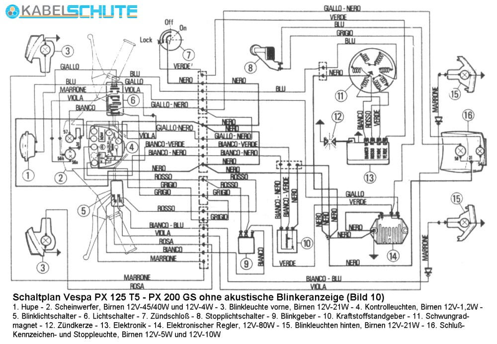 medium resolution of vespa px 125 wiring diagram wiring library rh 74 evitta de vespa gts 300 wiring diagram