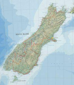 Unsere Tour auf der Südinsel