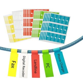 Meerdere kleuren labels verkrijgbaar