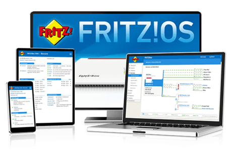 FritzOS der Fritzbox 6490 Cable