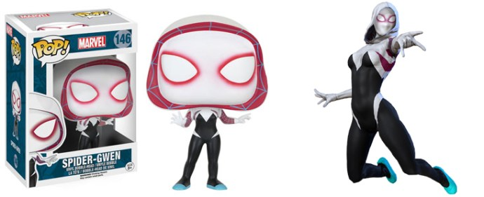 Serie 4 Marvel Funko Pop