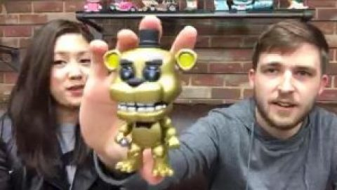 Golden Freddy SDCC2016