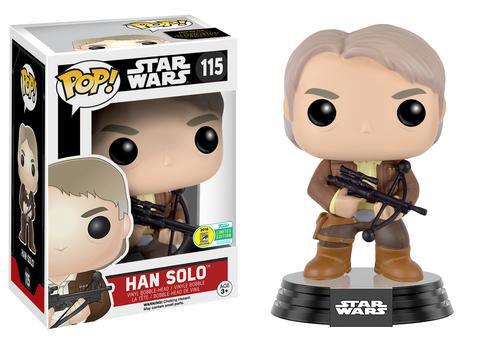Han Solo con la ballesta de Chewie