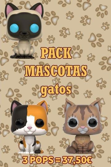 Funko Pop Pack Mascotas Gatos