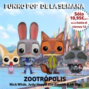 Funko Pop de la Semana Zootropolis