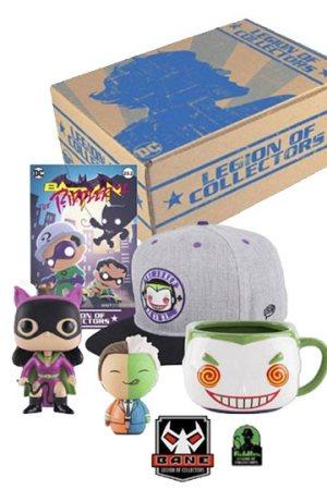 LEGION OF COLLECTORS BOX Batman Villains
