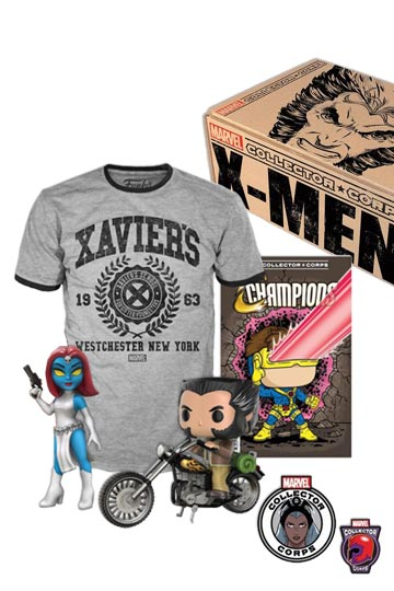 MARVEL COLLECTOR CORPS BOX X-MEN