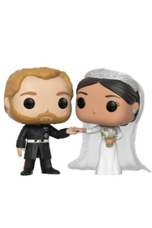 Funko Pop DUQUE & DUQUESA DE SUSSEX Boda Real