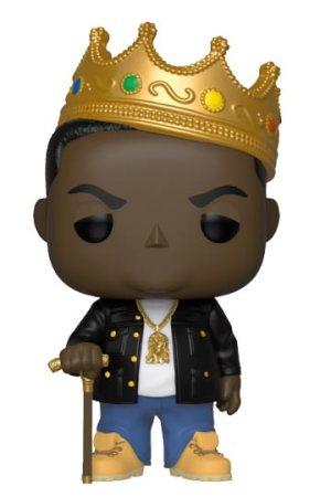 Funko Pop NOTORIOUS BIG con corona