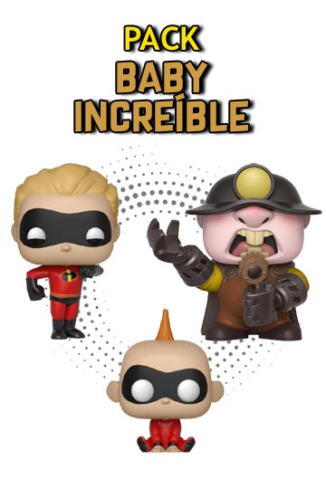 Funko Pop PACK BABY INCREIBLE