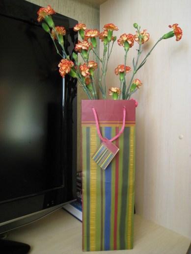 Мастер-класс Ваза для цветов