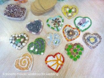 wedding mosaic workshop