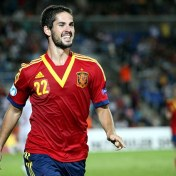 Isco with the Spain Under-21 Team Courtesy: EPA