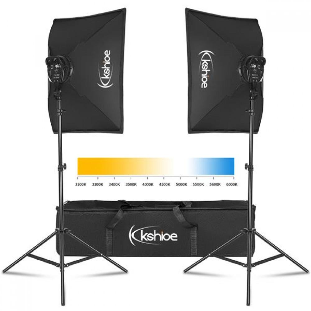 us w kshioe softbox lighting kit photo