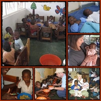 Spend a day at Sanyu Babies Home