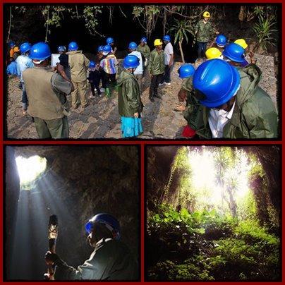 Explore the Musanze Cave near Volcanoes Park
