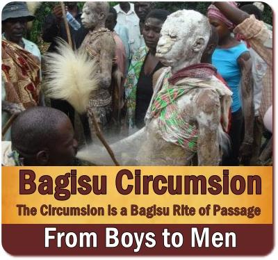 The Bagisu Imbalu Public Circumcision Rites - Boys becoming Men